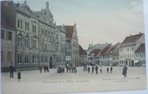 Roßmarkt um 1900