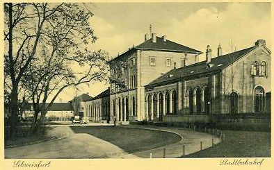 Stadtbahnhof ca. 1936