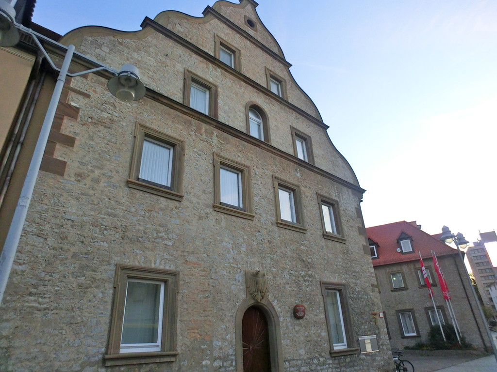 Das Schrannengebäude - heute Sparkasse Schweinfurt