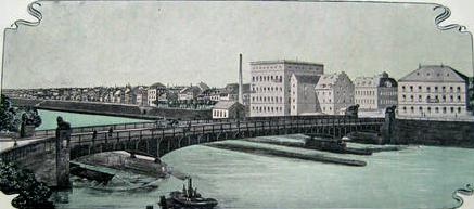 Die Brücke vor dem Umbau