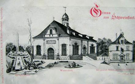 Wasserwerk Schweinfurt - 1897