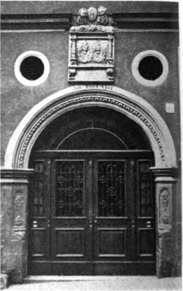Obere Straße 15 - Eingangstür