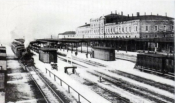 Hauptbahnhof um 1910