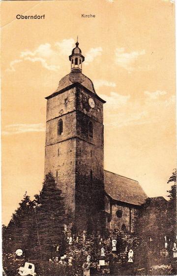 Die Kreuzkirche im Jahre 1910