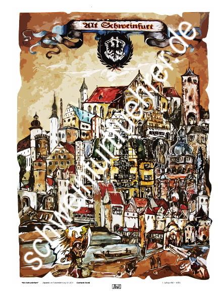 Alt-Schweinfurt von Gerhard Stahl