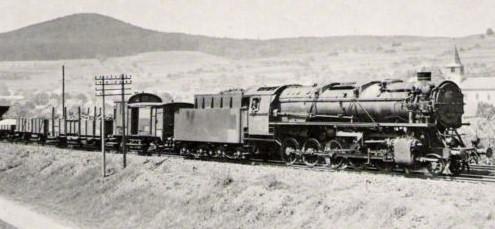 44 1011 vom Bahnbetriebswerk  -  Schweinfurt 21.Juni 1941