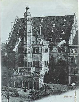 Rathaus ca. 1897