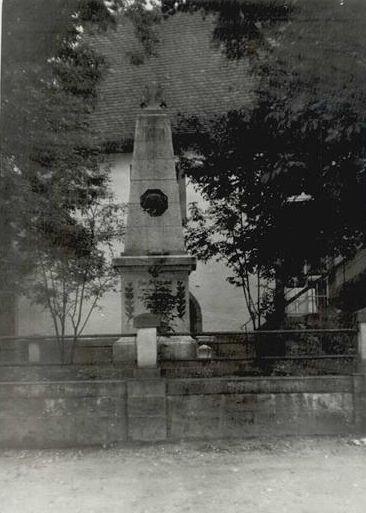 Kriegerdenkmal - Danke Michl Kupfer