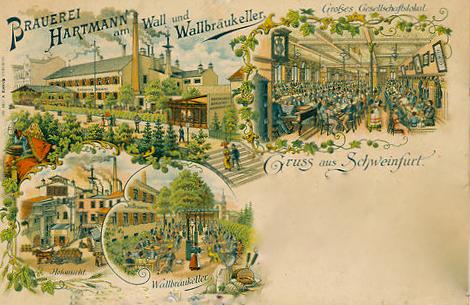 Hartmann am Wall um 1898