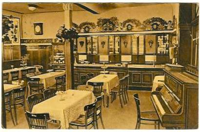 Cafe Beier um 1922