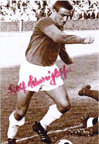 Rolf Schweighöfer, Mittelstürmer des FC05 Schweinfurt in den 1960ern