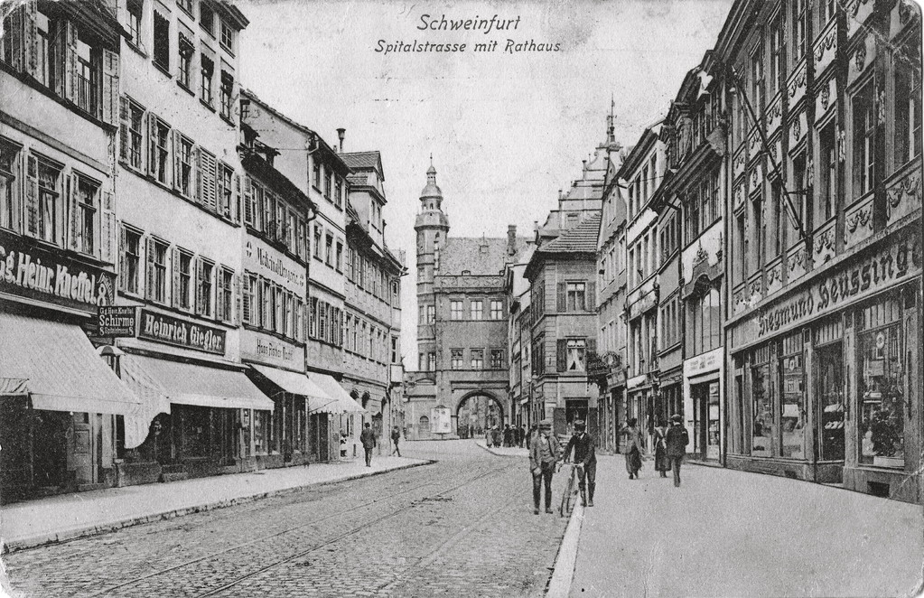 Spitalstraße ca. 1917