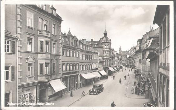1937 hieß sie Adolf-Hitler-Straße