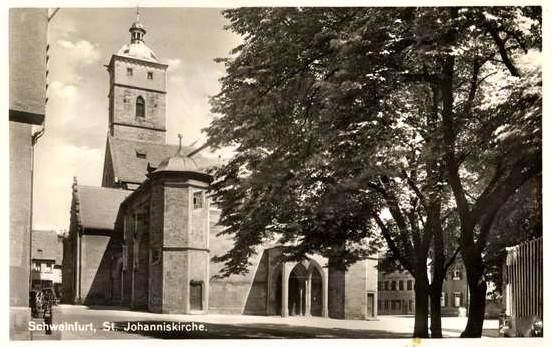 St. Johanniskirche um 1936