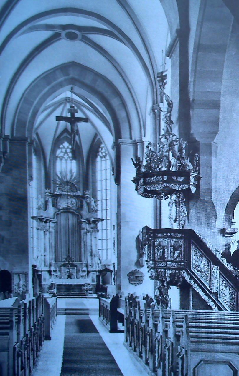 Kanzel, Baujahr 1694