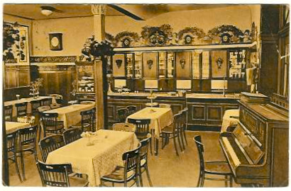 Innenraum im Jahr 1922