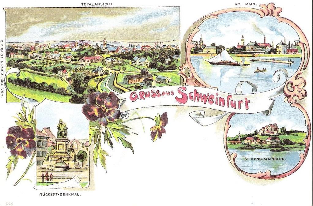 Gruß aus Schweinfurt - Danke an Michael Kupfer