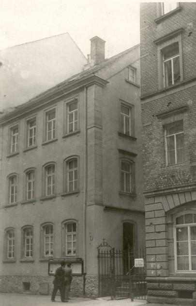 Schrammstraße 10 - in den 1950ern