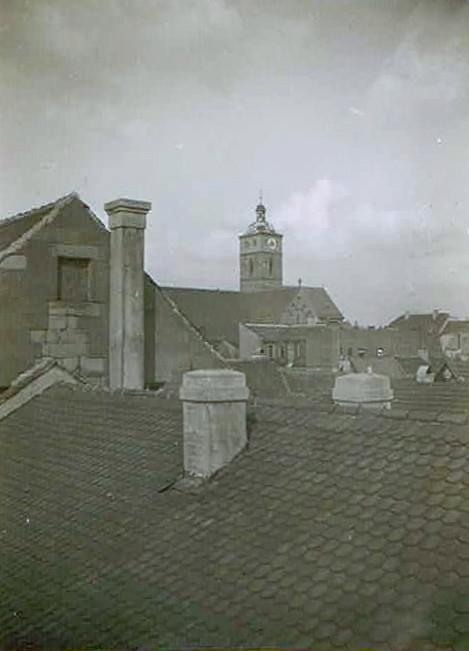 Blick über die Dächer auf St. Johannis - Danke an Karl Dill