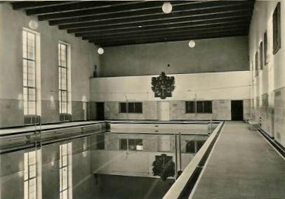 Die Schwimmhalle 1934