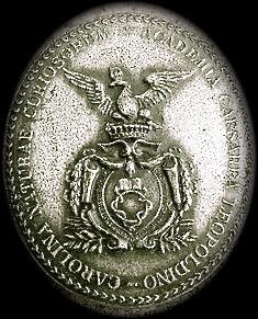 Abzeichen Academia Naturae Curiosorum Leopoldina um 1920