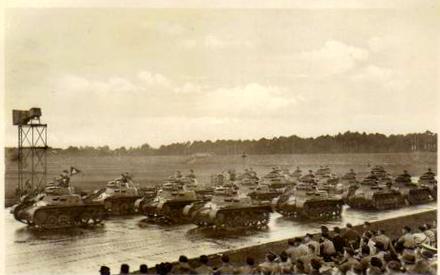Panzerübung im Feld 1936 Reg. 4