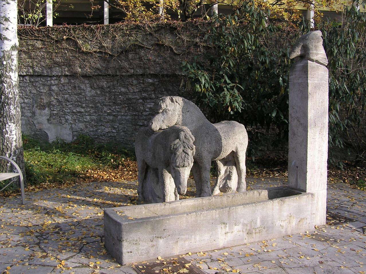 An der Stadtmauer hinter der Kunsthalle