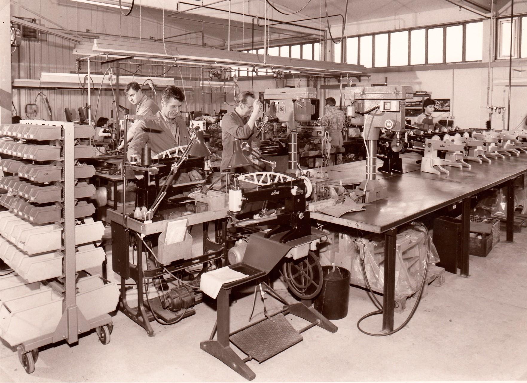Schustermaschine - Montage