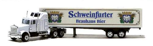 1996 - Schweinfurter Brauhaus  Truck Nr. 01 Modellname/Typ: Kenworth W900B SZ
