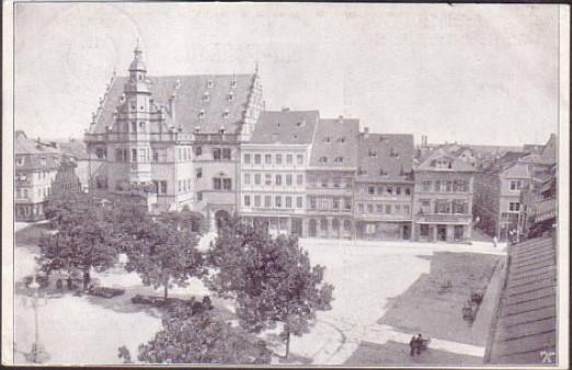 Marktplatz um 1912