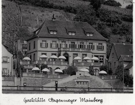 Gaststätte Hagenmeyer in Mainberg - ca. 1939