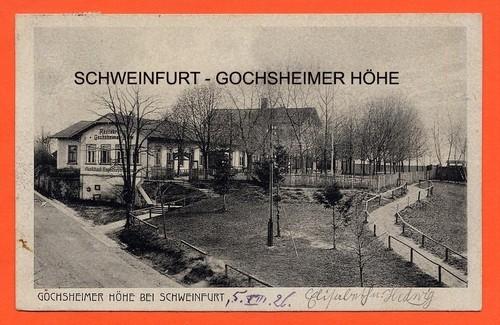 Gochsheimer Höhe in Sennfeld 1926 - Danke an Michl Kupfer