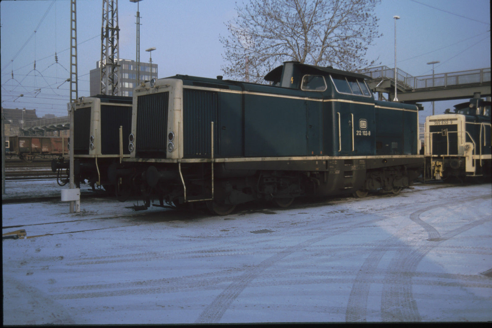 DB 212 102 Schweinfurt 14.12.1991