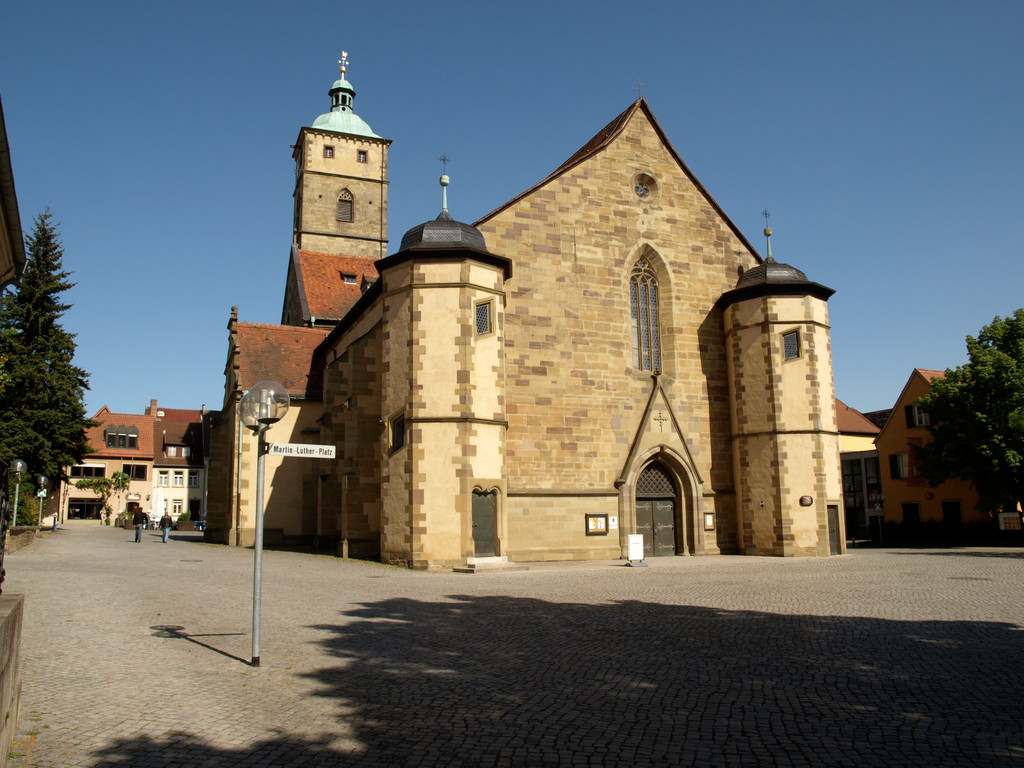 St. Johannis am Martin Luther Platz