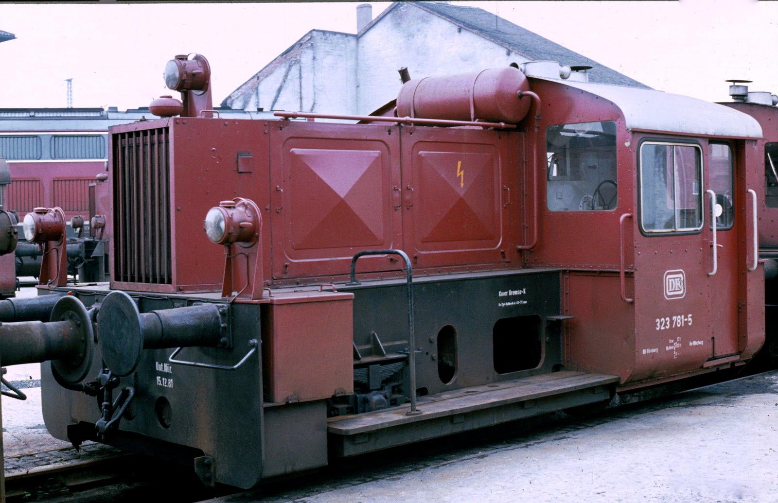 DB 323 781 Schweinfurt 1982