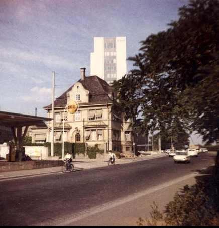 Villa Höpflinger (später abgerissen) in der Gunnar-Wester-Straße; damals Schultesstraße 44
