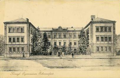 Das Königliche Gymnasium 1915