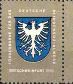 Fördermarke für das Deutsche Blindensozialwerk