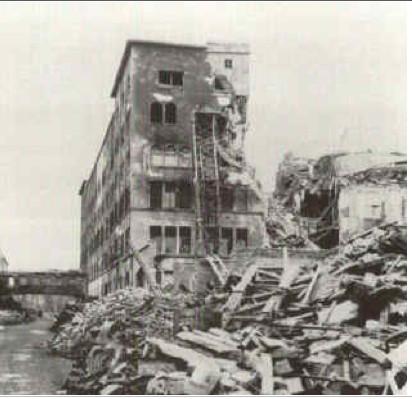 Späteres SKF-Gebäude in der Schrammstraße