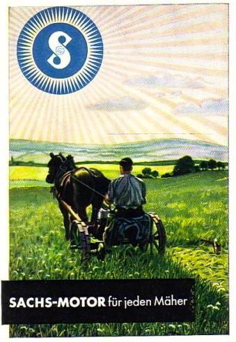 Werbung um 1950