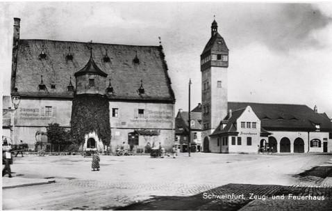 Das Zeughaus 1933