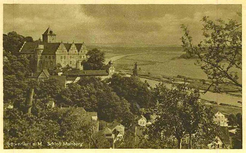 Schloss Mainberg um 1930