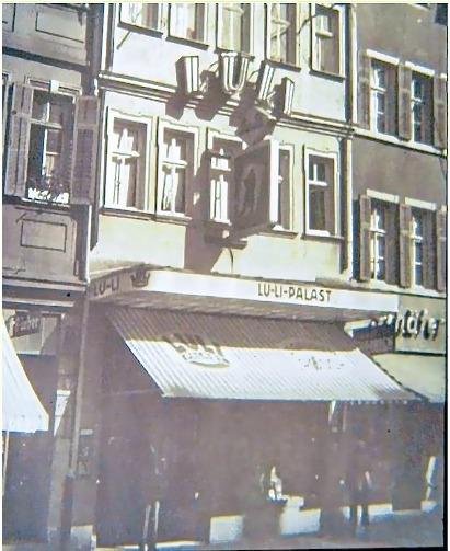 Luli Filmpalast in der Spitalstraße