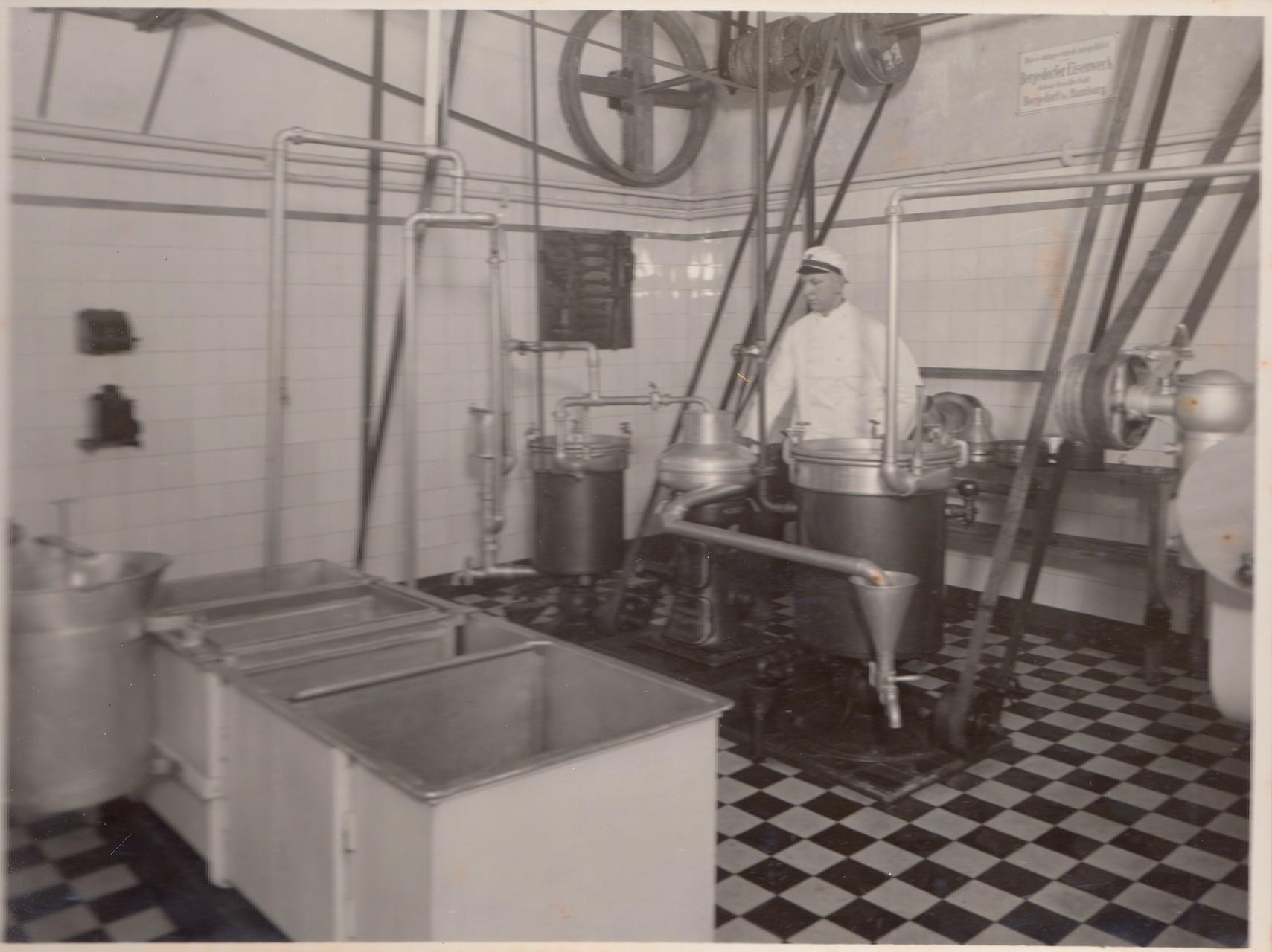 Milchannahme - Reinigungs- und Erhitzungsmaschinen