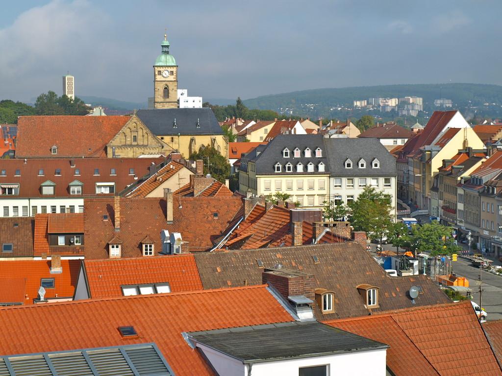 Blick Richtung Johanniskirche/Marktplatz