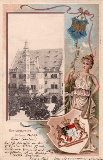 Ansichtskarte - gelaufen 1907