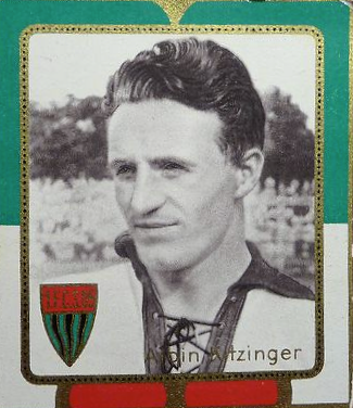 Albin Kitzinger - Sammelbild aus den 1930/40ern