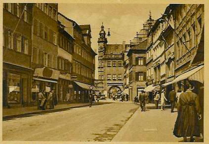 Spitalstraße in den 1930ern