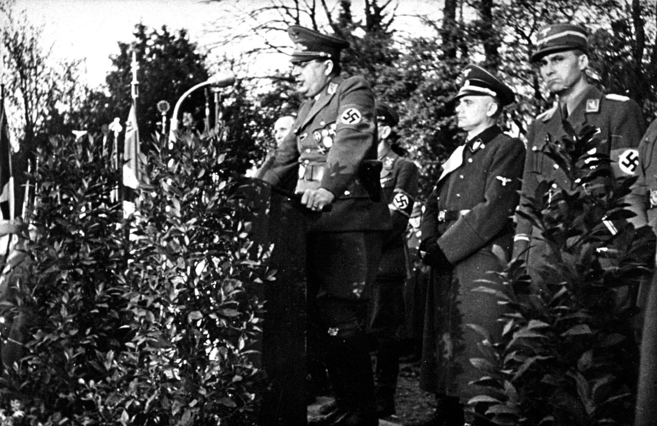 Schweinfurt Gauleiter SS -Standartenführer 1943