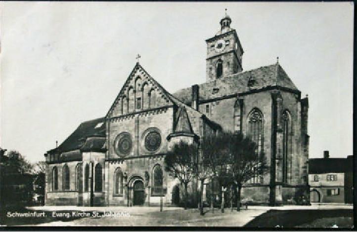 St. Johanniskirche um 1927